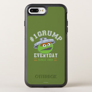 Oscar the Grouch Number 1 OtterBox Symmetry iPhone 8 Plus/7 Plus Case