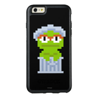 Oscar the Grouch Pixel Art OtterBox iPhone 6/6s Plus Case