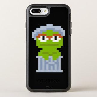 Oscar the Grouch Pixel Art OtterBox Symmetry iPhone 8 Plus/7 Plus Case