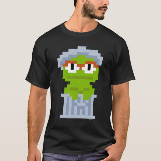 Oscar the Grouch Pixel Art T-Shirt