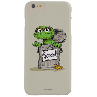 Oscar the Grouch Scram Barely There iPhone 6 Plus Case