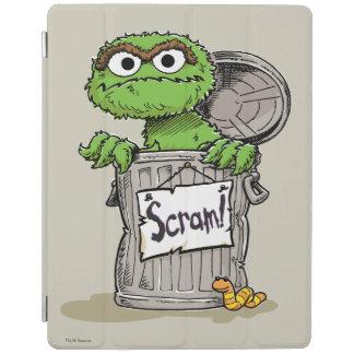 Oscar the Grouch Scram iPad Cover