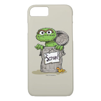 Oscar the Grouch Scram iPhone 8/7 Case