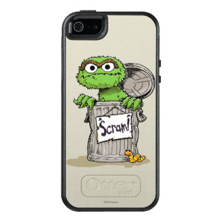 Oscar the Grouch Scram OtterBox iPhone 5/5s/SE Case