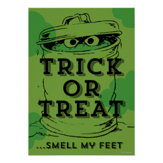 Oscar the Grouch - Smell my Feet Poster