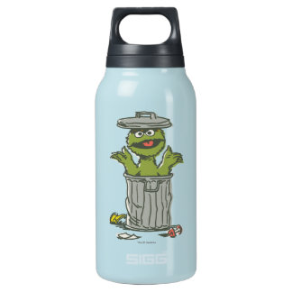 Oscar the Grouch Vintage 1 Insulated Water Bottle