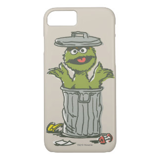 Oscar the Grouch Vintage 1 iPhone 8/7 Case