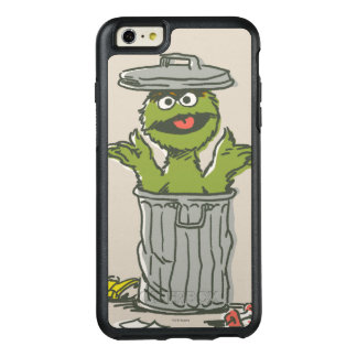 Oscar the Grouch Vintage 1 OtterBox iPhone 6/6s Plus Case
