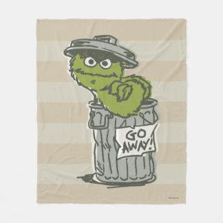 Oscar the Grouch Vintage 2 Fleece Blanket
