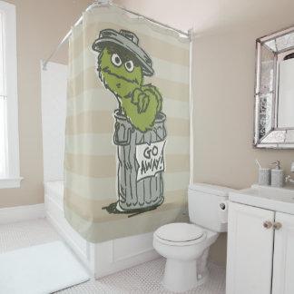 Oscar the Grouch Vintage 2 Shower Curtain