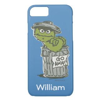 Oscar the Grouch Vintage | Add Your Name iPhone 8/7 Case