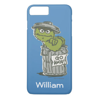 Oscar the Grouch Vintage | Add Your Name iPhone 8 Plus/7 Plus Case
