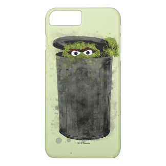 Oscar the Grouch | Watercolor Trend iPhone 7 Plus Case