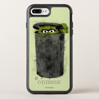 Oscar the Grouch | Watercolor Trend OtterBox Symmetry iPhone 8 Plus/7 Plus Case