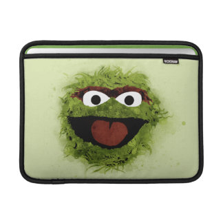 Oscar the Grouch | Watercolor Trend Sleeves For MacBook Air