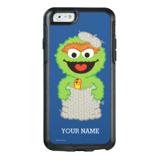 Oscar the Grouch Wool Style   Add Your Name OtterBox iPhone 6/6s Case