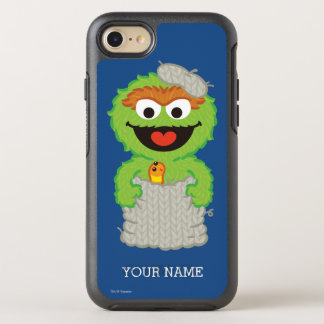 Oscar the Grouch Wool Style | Add Your Name OtterBox Symmetry iPhone 8/7 Case