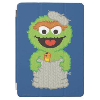 Oscar the Grouch Wool Style iPad Air Cover