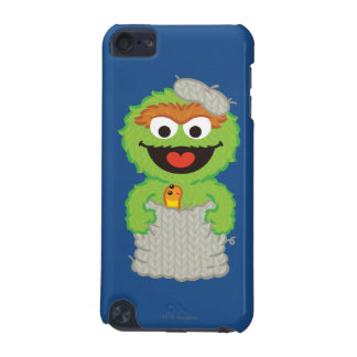 Oscar the Grouch Wool Style iPod Touch 5G Case