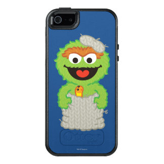 Oscar the Grouch Wool Style OtterBox iPhone 5/5s/SE Case