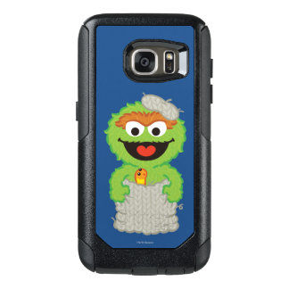 Oscar the Grouch Wool Style OtterBox Samsung Galaxy S7 Case
