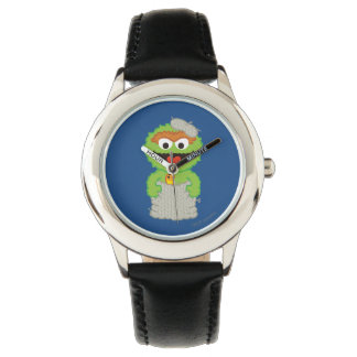 Oscar the Grouch Wool Style Watch