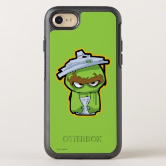 Oscar the Grouch Zombie OtterBox Symmetry iPhone 8/7 Case