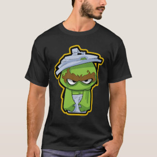 Oscar the Grouch Zombie T-Shirt