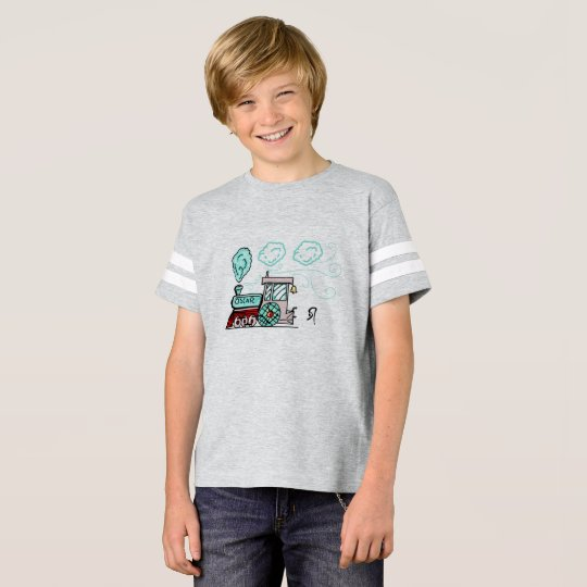 Oscar The Train T-Shirt by DrParanoidAndroid
