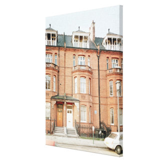 Oscar Wilde's house in Tite Street, Chelsea Canvas Print