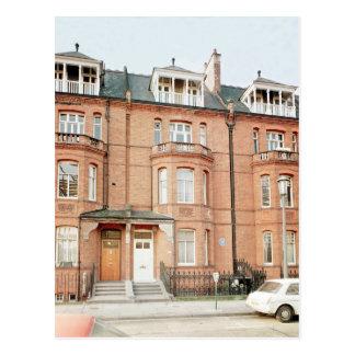 Oscar Wilde's house in Tite Street, Chelsea Postcard
