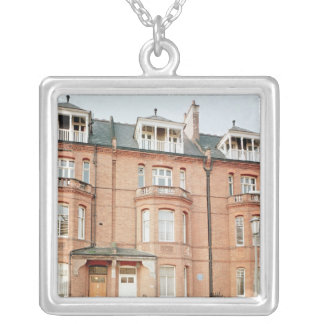 Oscar Wilde's house in Tite Street, Chelsea Silver Plated Necklace