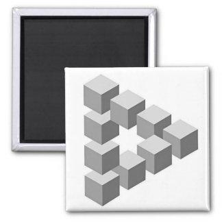 OscarReutersvard Square Magnet