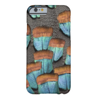 Oscillated Turkey feather pattern Barely There iPhone 6 Case