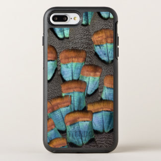 Oscillated Turkey feather pattern OtterBox Symmetry iPhone 7 Plus Case