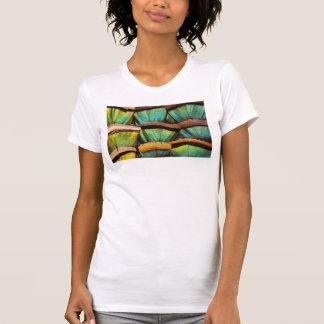 Oscillated Turkey feathers T-Shirt