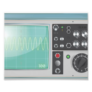 Oscilloscope Photograph