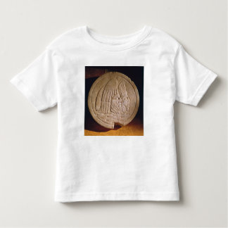 Oscillum depicting theatrical masks toddler T-Shirt