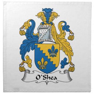 O'Shea Family Crest Napkin