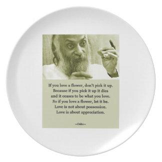 Osho Plate