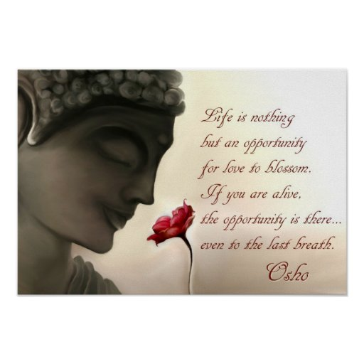 Osho Quote Plakate