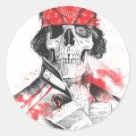 Osiris Ludwig Round Sticker