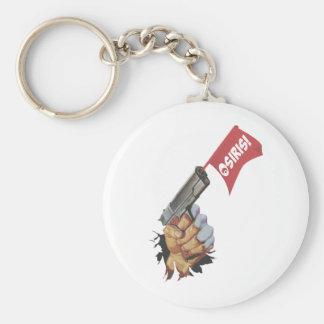 Osiris Pistola Basic Round Button Key Ring