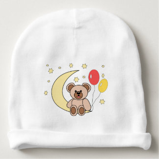 osito and moon baby beanie