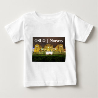 Oslo, Norway at night Baby T-Shirt