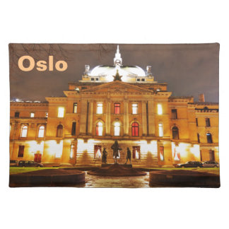 Oslo, Norway at night Placemat