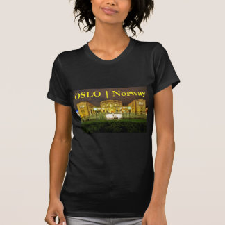 Oslo, Norway at night T-Shirt