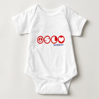 Oslo Norway Baby Bodysuit