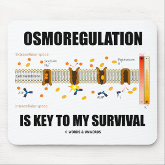 Osmoregulation Is Key To My Survival Mouse Pad