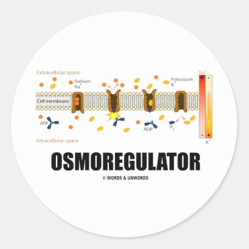 Osmoregulator (Sodium-Potassium Pump) Stickers
